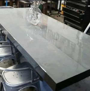 "The ""ENSEMBLE"" GREY BISTRO DINING TABLE for Sale in Los Angeles, CA"