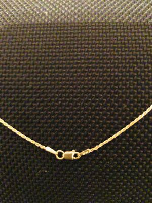 14k rope gold chain for Sale in Frederick, MD
