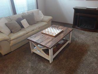 Custom Handmade Farm House Style Coffee Table. for Sale in Silverdale,  WA