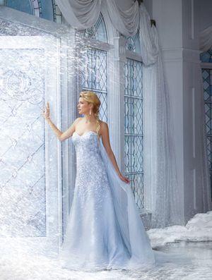 Elsa Frozen Wedding Dress for Sale in Chandler, AZ