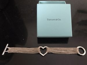 Tiffany & Co Multistrand Heart Toggle Bracelet for Sale in Parma, OH