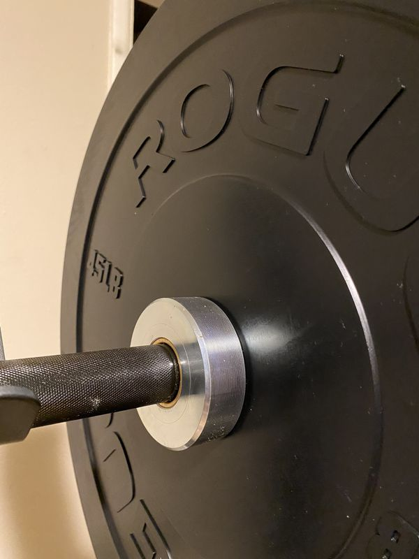 Olympic Barbell Rogue Ohio Bar Boneyard olympic weight plates not included bumper plates not included