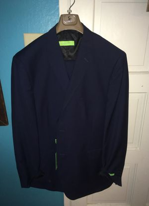 Brand New 3 Piece Navy Blue Modern Fit suit for Sale in Lodi, CA
