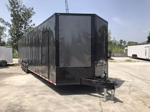 Enclosed trailer 8.5x36 Two car hauler for Sale in Southwest Ranches, FL