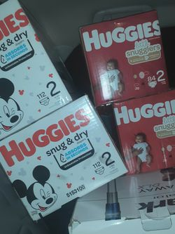 Huggies Size 2 for Sale in Tigard,  OR