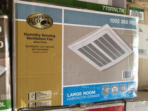 Hampton Bay 140 CFM Ceiling Humidity Sensing Bathroom Exhaust Fan for Sale in Garden Grove, CA