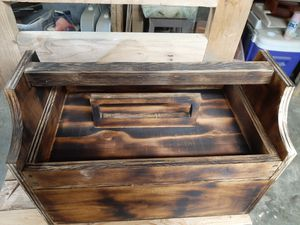 Handmade Tool Caddy with Removable Tray for Sale in Kelso, WA