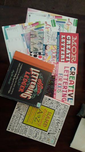 Hand Lettering books for Sale in Richmond, KY