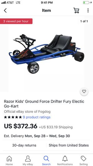 Used Razor drifter electric cart for Sale in Olean, MO