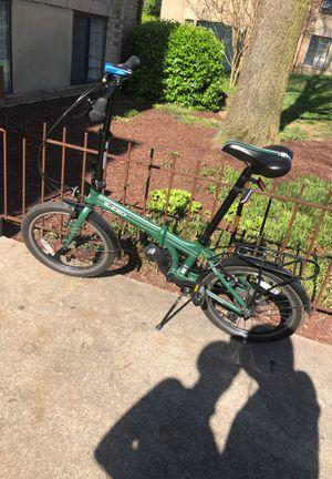 Zizzo folding bike for Sale in Washington, DC