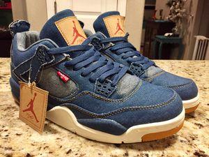 Nike Jordan 4 Levi's Denim Jordans 4s 4's Mens size 11 for Sale in Abilene, TX