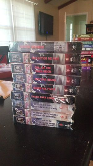 Hunters of the sky series on VHS for Sale in Brentwood, TN