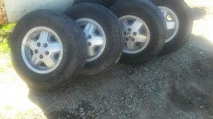 Jeep wheels and tires for Sale in Valley Home, CA