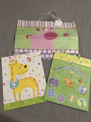 3 Baby shower bags (ALL FOR $1.50) for Sale in Hayward, CA