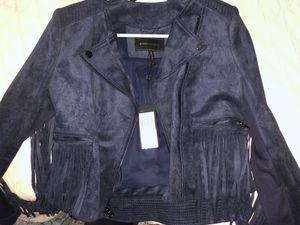 Fringe blue bcbg jacket for Sale in Houston, TX