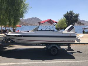 1984 Bayliner Capri Force50hp comes with trailer for Sale in Orange, CA