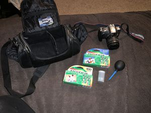 Canon camera with extra for Sale in Washington, PA