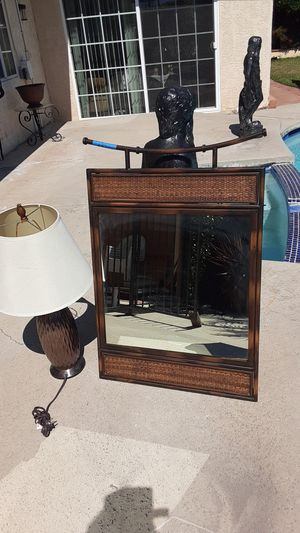 Used wall mirror & lamp for Sale in Santa Ana, CA