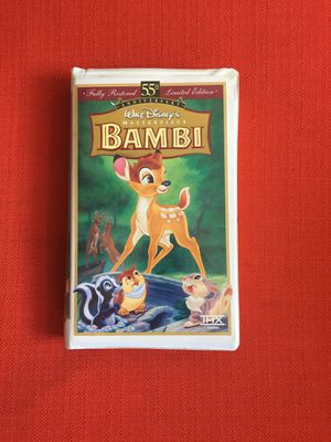 Bambi 55th anniversary VHS for Sale in Jersey City, NJ