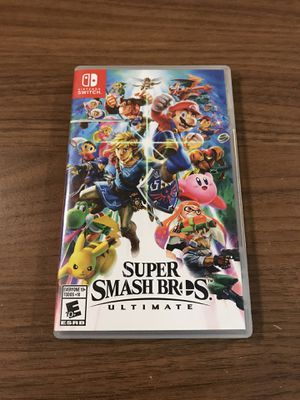 Super Smash Bros Ultimate Nintendo Switch for Sale in Fontana, CA