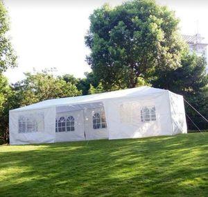 White Heavy Duty 10x30 Wedding Party Canopy Tent for Sale in Deltona, FL