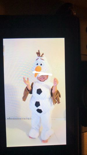 Olaf Costume 2T for Sale in Long Beach, CA