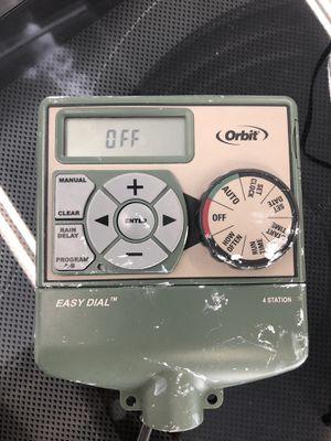 Easy dial - 4 station sprinkler system for Sale in San Diego, CA