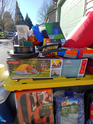 Camping gear for Sale in Tigard, OR