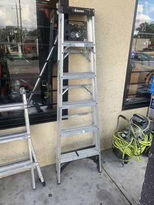 Husky 6ft Aluminum Folding Ladder for Sale in Tampa, FL