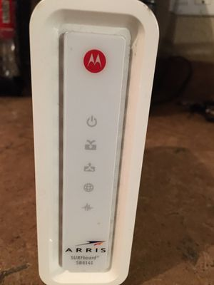 Motorola SB6141 COX Modem for Sale in Avondale, AZ