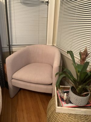 West Elm Pink Chair for Sale in San Francisco, CA