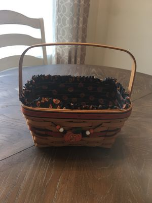Longaberger Halloween Basket for Sale in Cary, NC