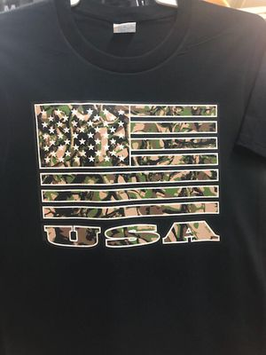 Camo Flag T-Shirt for Sale in Princeton, FL