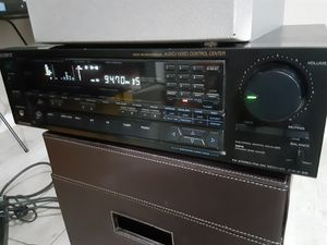 Sony STR-AV910 Stereo am/fm Receiver w/sony subwoofer for Sale in Los Angeles, CA