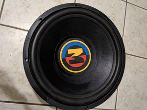 "Old school 15"" woofer for Sale in Houston, TX"