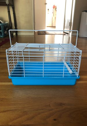$5 New and assembled!!Small animal cage with perch for Sale in Gaithersburg, MD