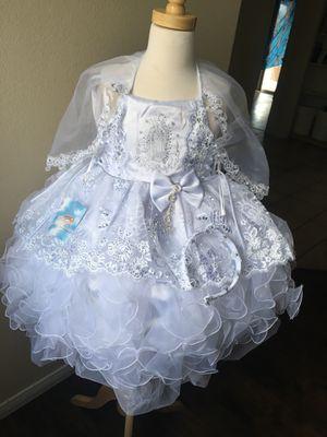 White baptism Bautiso dress for Sale in Las Vegas, NV
