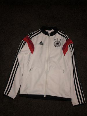 boys youth adidas germany deutscher bund fussball zip up sweater for Sale in Montclair, CA