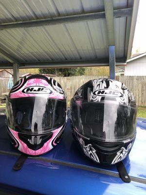Hjc motorcycle helmets for Sale in Kingsport, TN