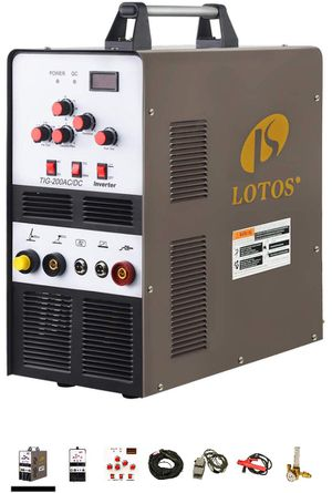 Lotos Tig Welder with Torch and Foot Pedal New Never Used for Sale in San Diego, CA