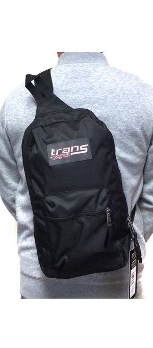 New! Trans by Jansport crossbody sling bag backpack travel work school outdoor biking hiking bag for Sale in Carson, CA