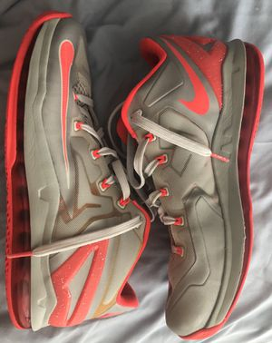 Nike lebron 11 low basketball shoes size 10 for Sale in Orlando, FL