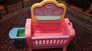 Baby doll crib little tikes for Sale in West Collingswood Heights, NJ