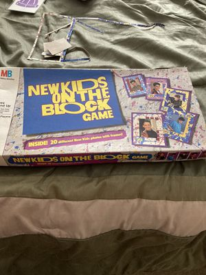New kids on the block game 1990 for Sale in Garner, NC