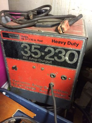 Craftsman arc welder. Been stored in basement for years. Don't have any use for it anymore 150.00 dollars firm for Sale in Lowell, MA