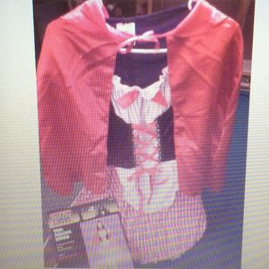 Halloween Costumes Red Riding Hood & Lady Bug, both new Teen size M 12-16 ea $10 for Sale in Beaver Falls, PA