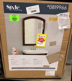 Style Selections Mirror AND mirror Frame 1142M S for Sale in DeSoto, TX