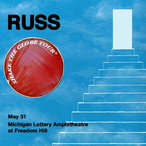 Russ concert tickets in Detroit for Sale in Toledo, OH