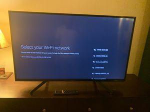 49 inch Sony 4K smart tv for Sale in Rio Rancho, NM