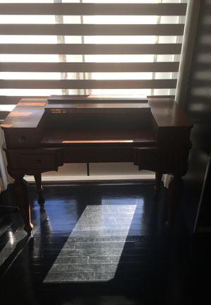 solid mahagony antique desk for Sale in Miami, FL
